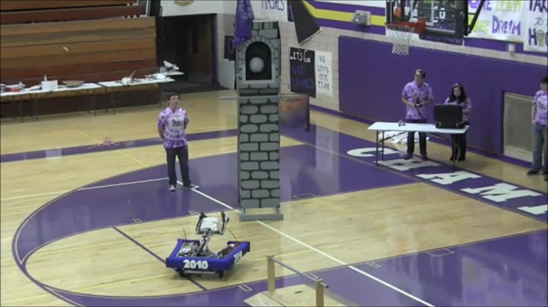 CHS Robotics Club - Scores big points!
