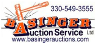 Basinger Auction Service sign