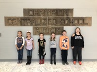 November 2018 Students of the Month