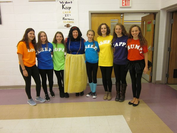 Snow White and her 8th grade dwarfs