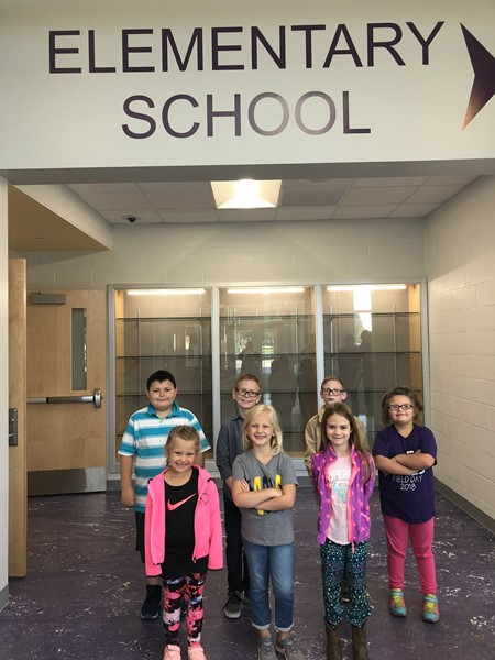 Congratulations to our September Students of the Month! They were chosen by their teachers because they did an exemplary job of showing the character trait of CARING during our first month of school.