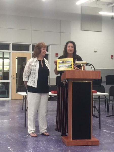 Lynda Norton Administrative Assistant  recognized at Board meeting