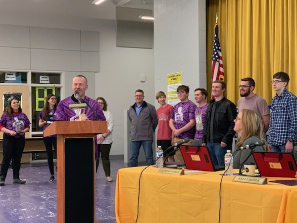CHS Robotics Team recognized for its achievement