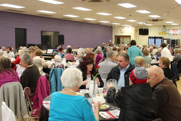 Over 175 people attended the 9th annual Swing into Spring Dinner Theater and Award Program