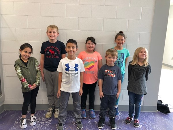 Congratulations to our October Students of the Month! These students were chosen by their teachers for this honor because they exemplified the character trait of RESPECT. We are proud of them!