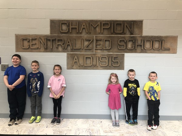 Central would like to congratulate our March Students of the Month! We are proud of how they each did a standout job of exhibiting the trait of CITIZENSHIP over the last month.