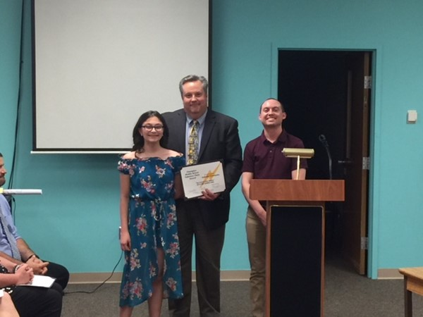 Board honors top achievers in CMS Science Fair