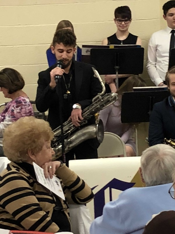 CHS Jazz Band performs