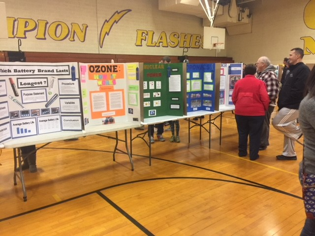 CMS Science Fair display- Ozone