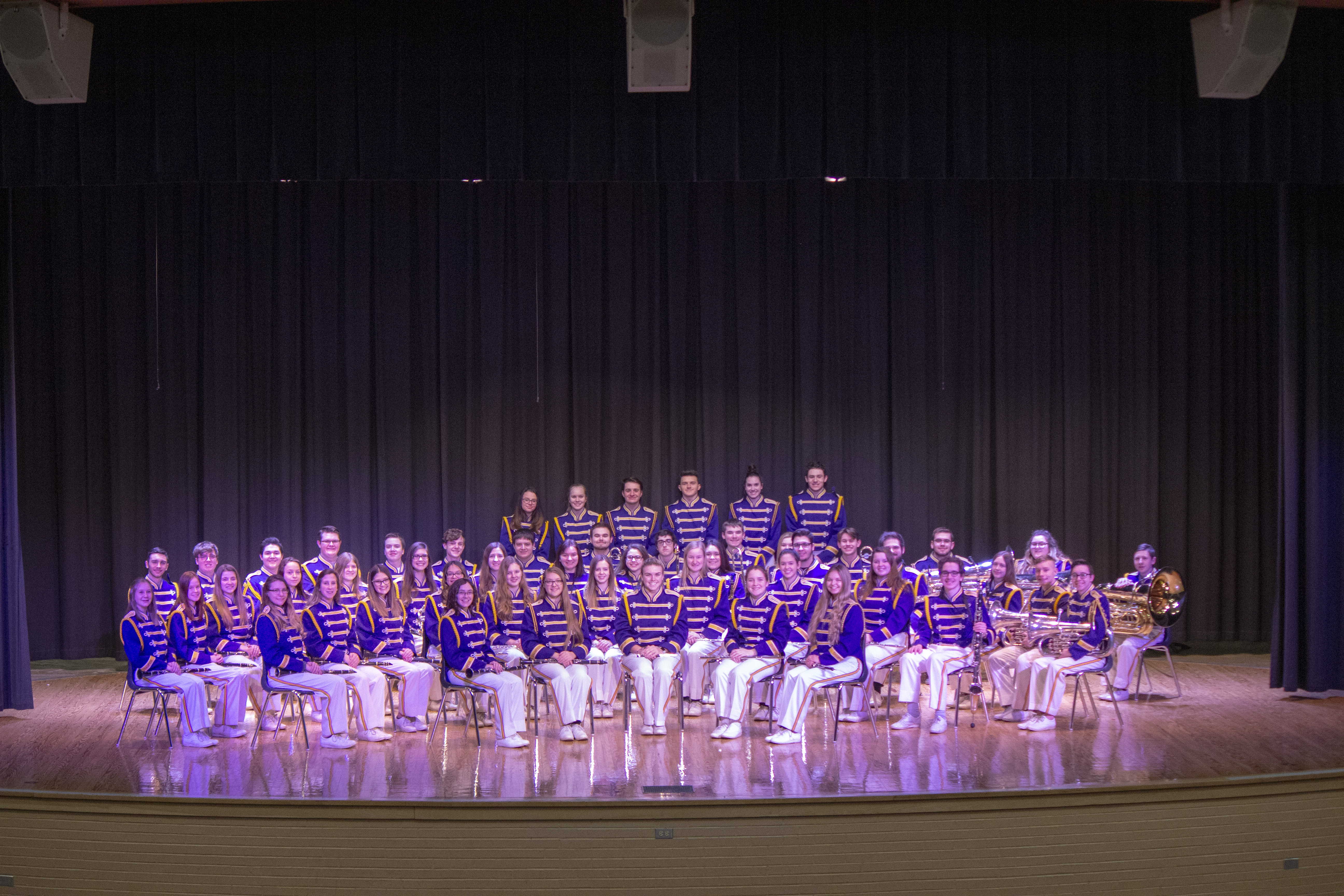 Group photo of the Symphonic Band