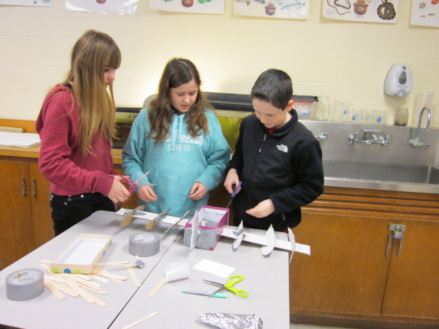 "All of the fifth grade Science classes have spent several class days participating in the NASA ""Let it Glide"" STEM challenge for middle school students."