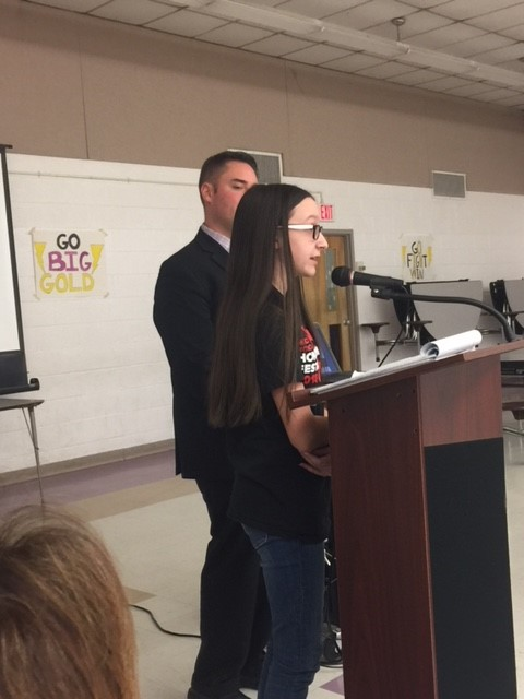 CMS music students highlighted at Monday's Board of Education meeting