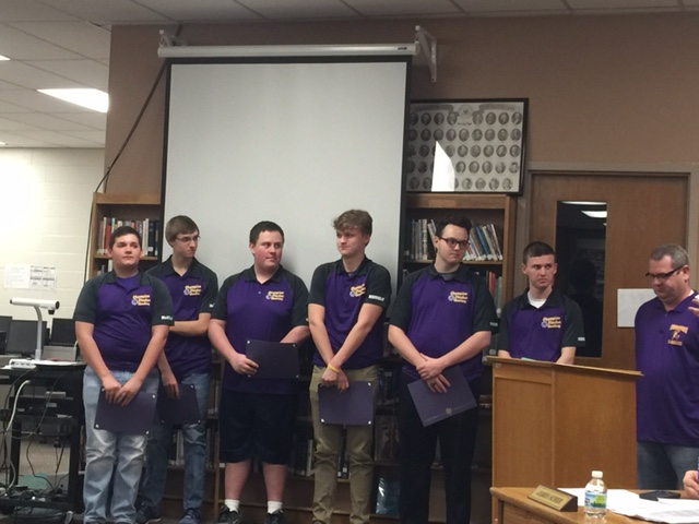 CHS Bowling Team Honored as AAC Blue Tier Champions