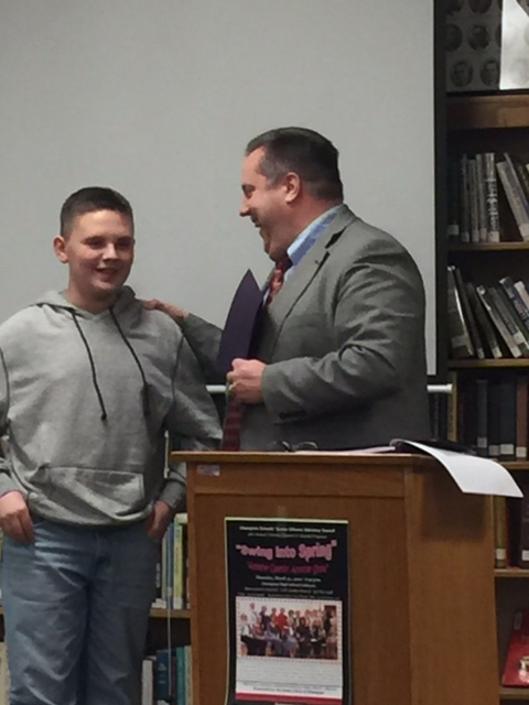 BOE Honors CMS Spelling Bee Winners