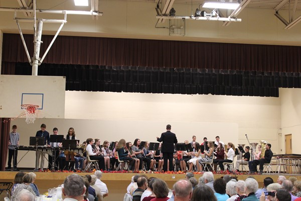 CMS Band performs for the Fall Fest 2016