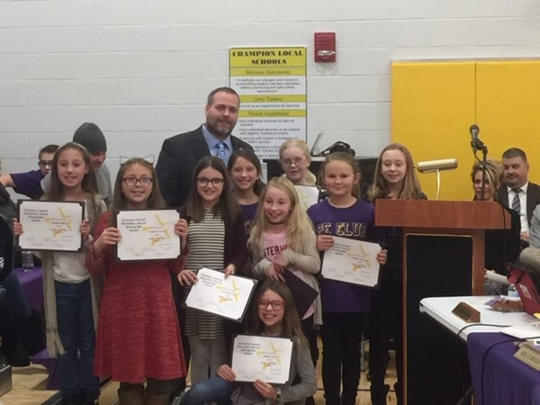 Board celebrates student Maker Space business project