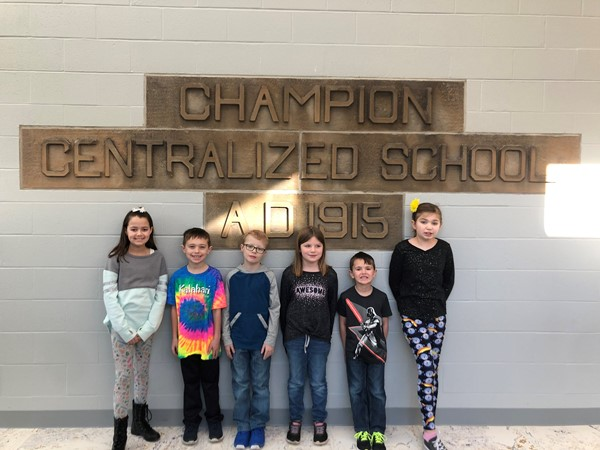Congratulations to our February Students of the Month. They did an outstanding job of exhibiting our pillars of character this month.