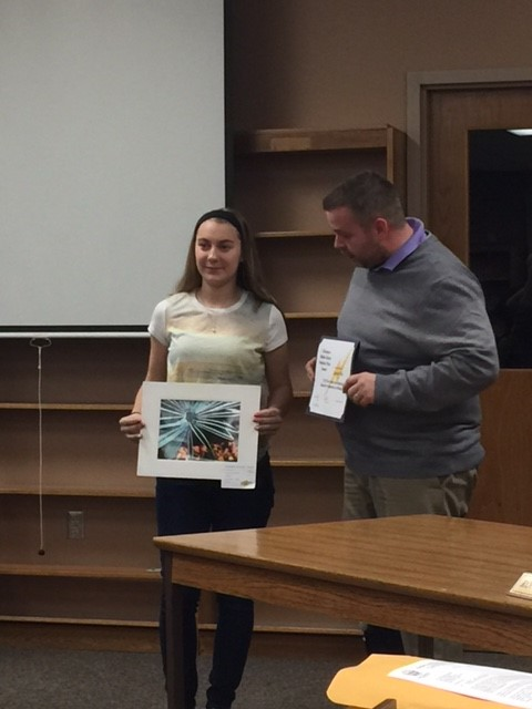 National student art achievement honored by the Board
