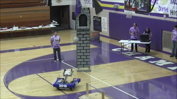 CHS Robotics Club - shares project created for competition