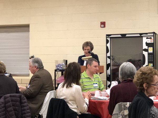 Swing into Spring Senior Citizen Advisory Council 2018 speaks to guests