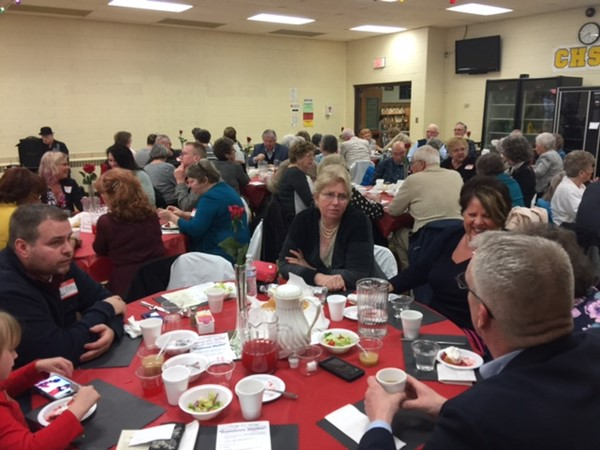 Over 175 folks attended the 7th annual Swing into Spring Dinner Theater and Award Program