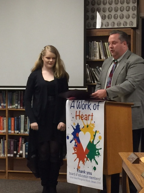 BOE Recognizes CMS Scholastic Art Winners
