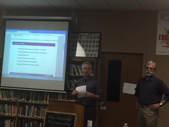 BSHM Architects present to Board