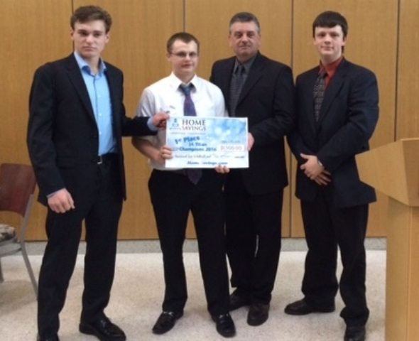 CHS Business Economics Class Winners